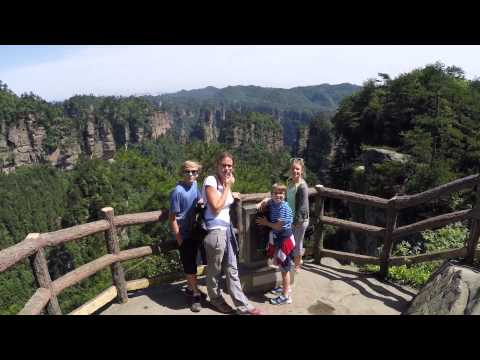 Fairbourne Family in China