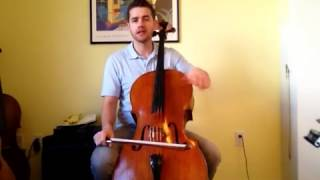 Chris Loxley plays Allegro from Suzuki Cello Book 1