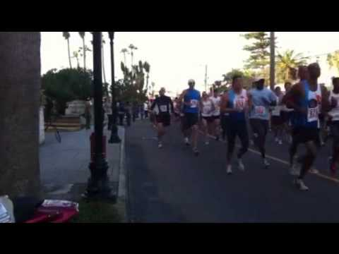 Bermuda Fairmont Road Running Race Jan 9 2011