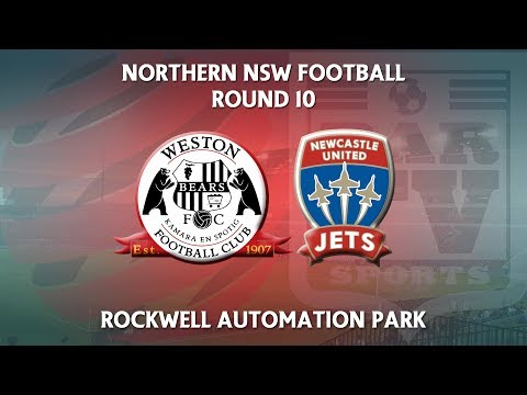 2018 NNSWF NPL Round 10 - Newcastle Jets Youth v Weston Workers FC