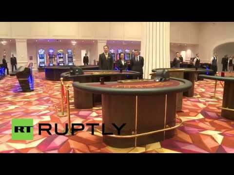 Russia  The 'new Macau' Casino resort opens in far east Primorye