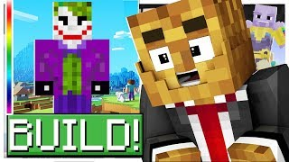 *UPDATE SUPER VILLAINS* BUILD YOUR FAVORITE SUPERHERO! - MINECRAFT MODDED DC SUPER HERO CREATOR