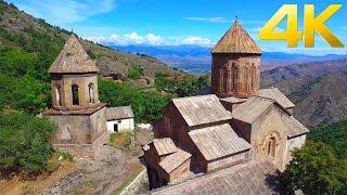 Sapara Monastery / საფარის მონასტერი / Монастырь Сафара / - 4K aerial video footage DJI Inspire 1(Sapara Monastery (Georgian: საფარის მონასტერი) is a Georgian Orthodox monastery in the Akhaltsikhe District of Samtskhe-Javakheti region, Georgia., 2016-01-18T14:44:40.000Z)