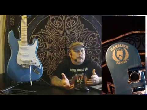 New Guitar Day...Hard Luck King's BombShell Guitar