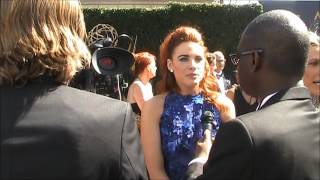 """44th Annual Daytime Emmy Award Interviews: Courtney Hope of """"The Bold and the Beautiful"""""""