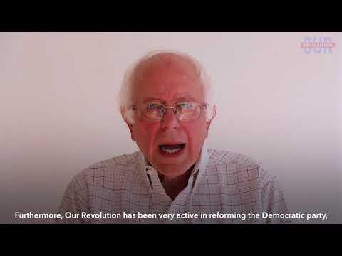 Sen. Bernie Sanders on Our Revolution's First Birthday