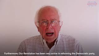 Sen. Bernie Sanders on Our Revolution
