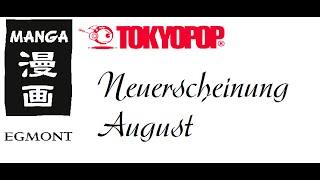 Manga Neuerscheinungen im August 2016: Egmont Manga & Tokyopop