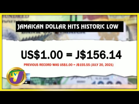 Jamaican Dollar Hits Historic Low | TVJ Business Day - July 27 2021