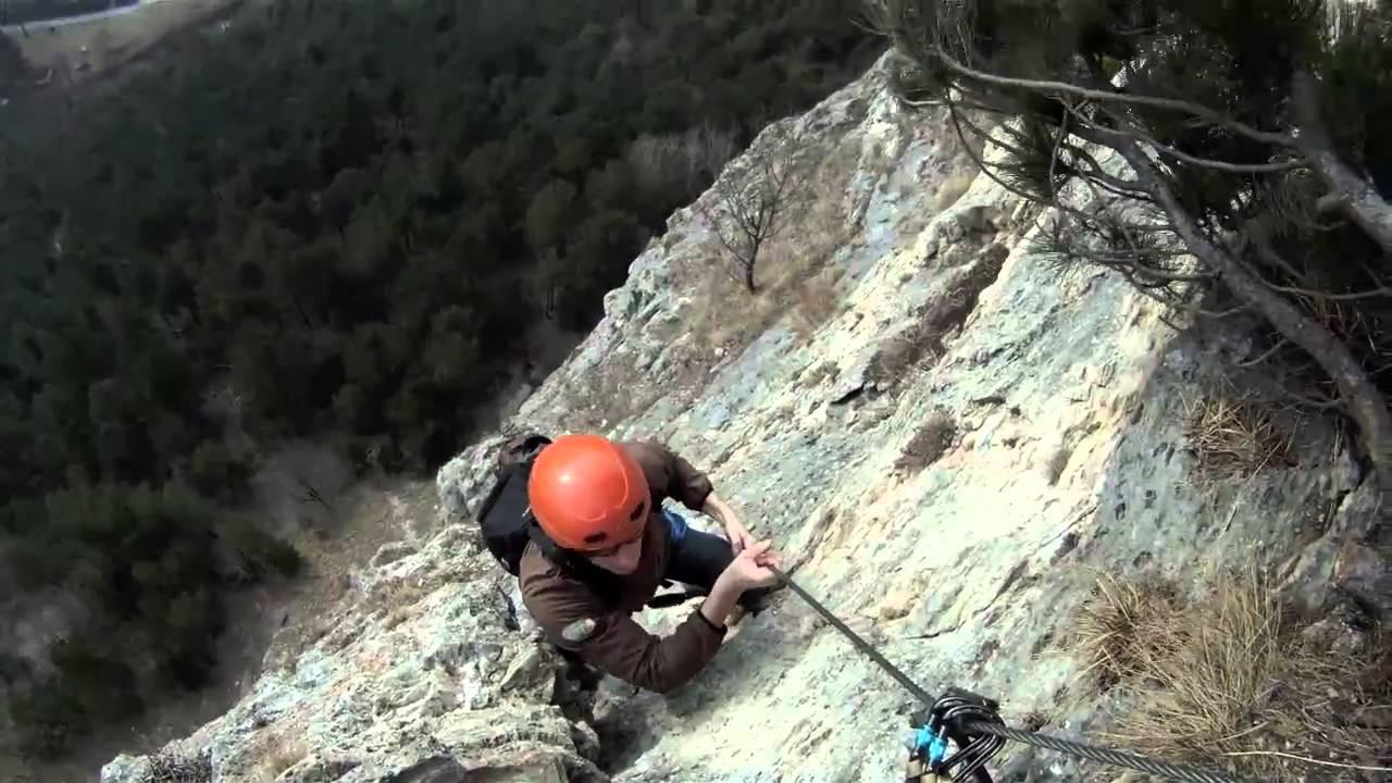 Klettersteig Türkensturz : Türkensturz pittentaler klettersteig youtube