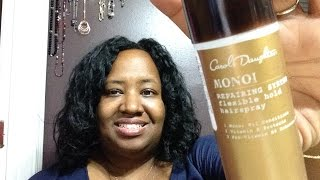 Flexible Hold Hairspray Carol's Daughter  Monoi Repairing System RELAXER TEXLAX