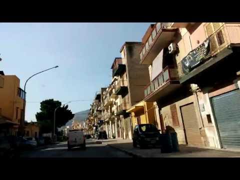 Steve's rental drive Palermo to Cefalu