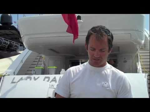 Yachting Pages Testimonial from First Mate During Antibes Yacht Show 2011.