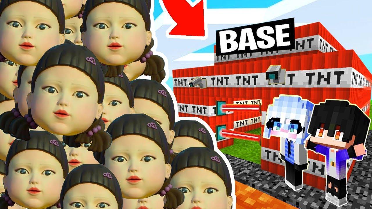 Download RETO DE LA BASE VS 1000000 EL JUEGO DEL CALAMAR 😰😱 SRTACATANA VS SQUID GAME | SrtaCatana Minecraft