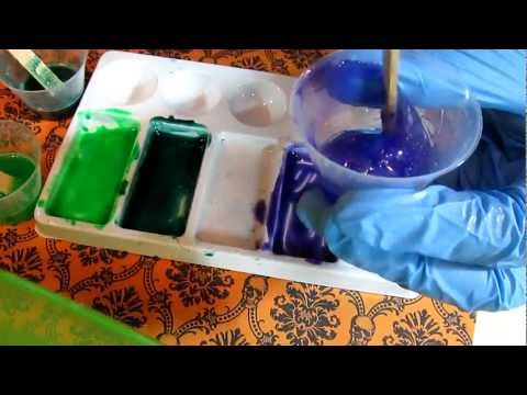 Mixing powder pigments into resin (how to)