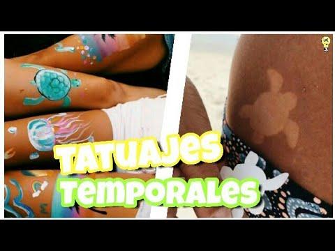 Tatuajes Temporales Badabun haz tatuajes temporales facil! 5 ideas para hacer tatuajes falsos