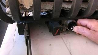 Instructie gashaard ontsteken
