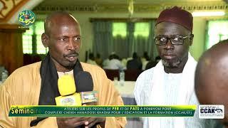 ITV S Abo Kebe et S.Mor Bousso ( Séminaire du Comité Scientifique du CCAK )