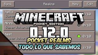 Noticias Minecraft PE 0.12.0 o 1.0 | Pocket Realms CONFIRMADO! | Shoghi y Tomas