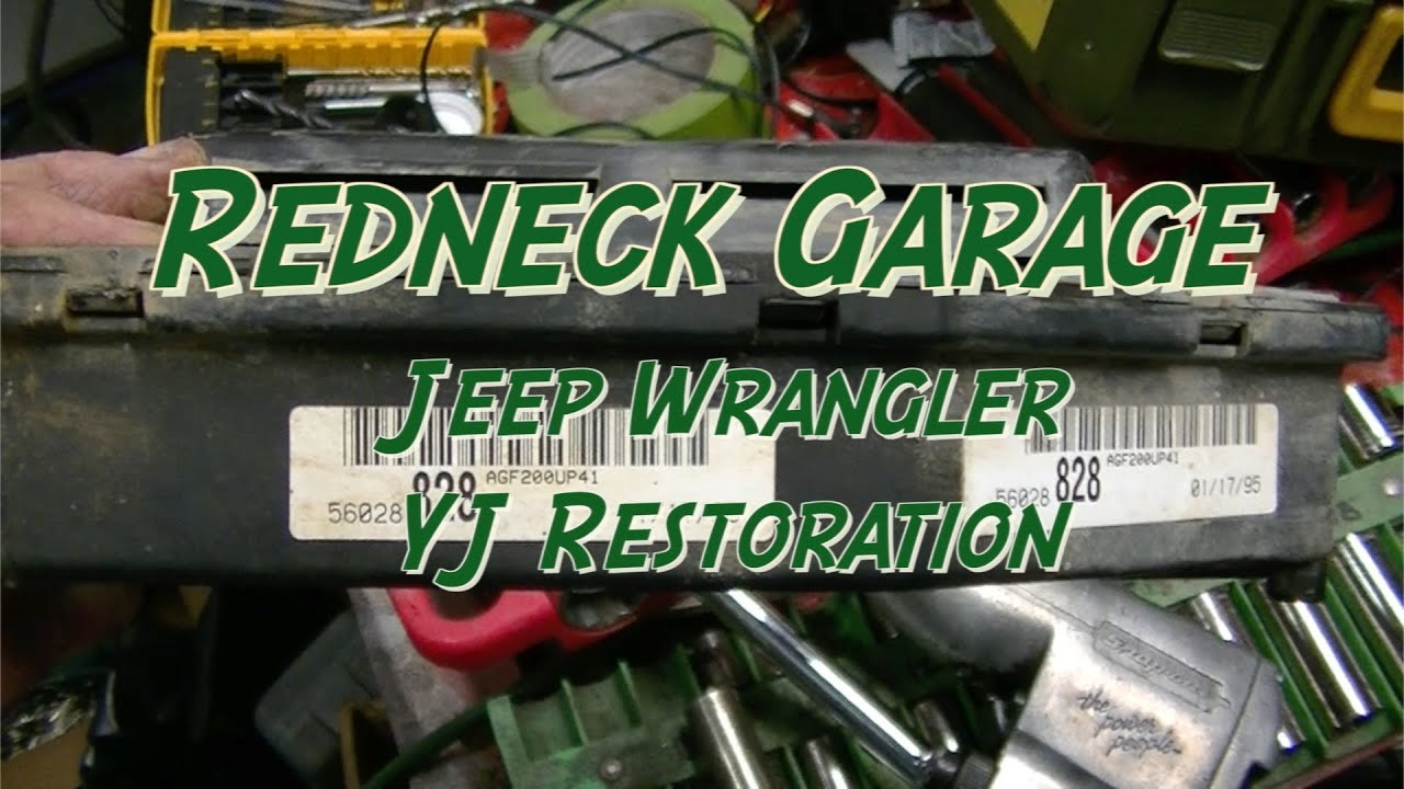 hight resolution of jeep yj wrangler ecm installation after repairs and a haircut