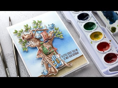 Art Impression Cubbies Card + A Chat About Crafting