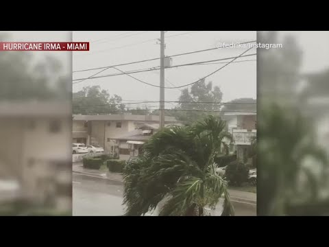 Tropical Storm Conditions Starting In Miami