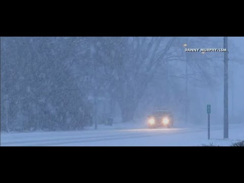Thumbnail: Nor'easter pounding region, cancelling flights, school