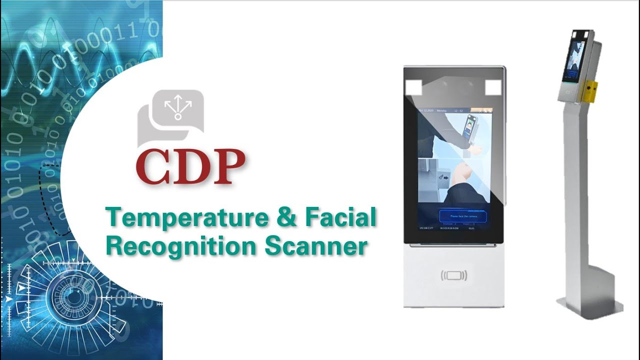 Temperature & Facial Recognition Terminal is a safe and secure way to protect your organization.