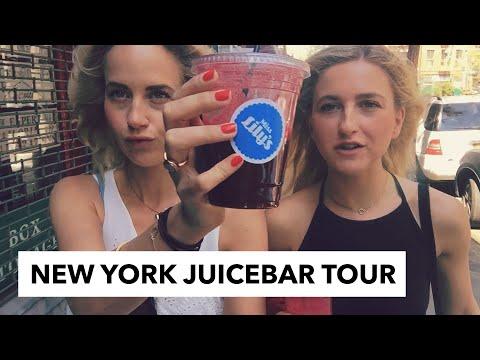 JUICE BAR TOUR DOOR NEW YORK | BLONDE TIGERS