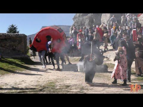 La tradicional Tarasca en los carnavales de Hacinas