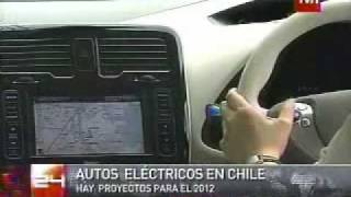 TVN Nissan Marubeni Vehiculo Electrico en Chile