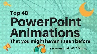 Top 40 Best PowerPoint 2016 Animation Motion Graphics Tutorial | The Teacher