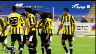 هدف الاتحاد الثالث ضد القادسية نهائي كأس الاتحاد للشبا