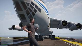 Отказали двигатели - аварийная посадка на авианосец! реальная жизнь гта 5 моды gta 5