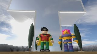 ROBLOX: MY MOTHER AND I TURN THE YOUNG TITANS!!