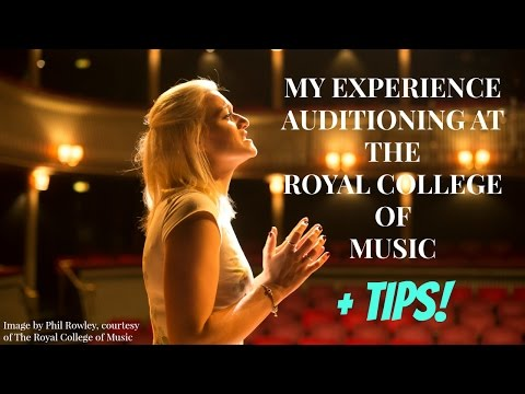 MY EXPERIENCE: UNDERGRADUATE & MASTERS VOICE AUDITIONS | THE ROYAL COLLEGE OF MUSIC