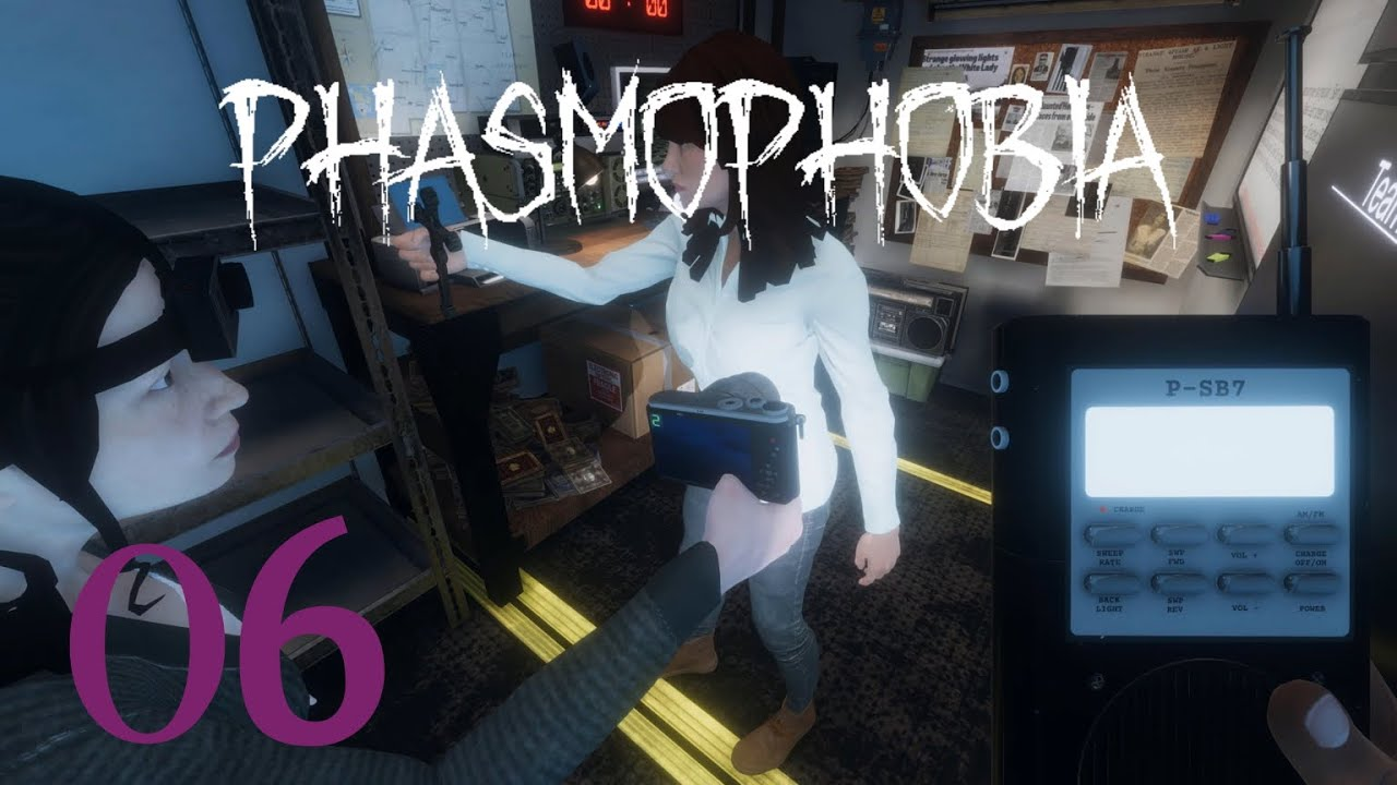 Download Phasmophobia 🔦 06 ◊ Schocks durch Geisterbox   Let's Play deutsch