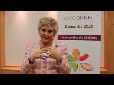 Angela Rippon Interview. Dementia 2020 London
