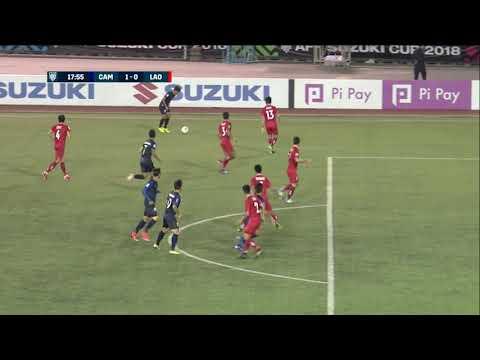 Chan Vathanaka 18' vs Laos (AFF Suzuki Cup 2018 : Group Stage)