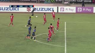 Download Video Chan Vathanaka 18' vs Laos (AFF Suzuki Cup 2018 : Group Stage) MP3 3GP MP4