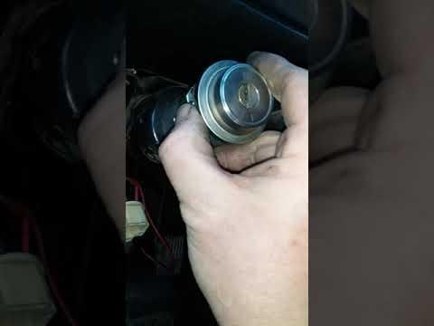 Простой способ разблокировать руль и завести Ваз 2101-2107