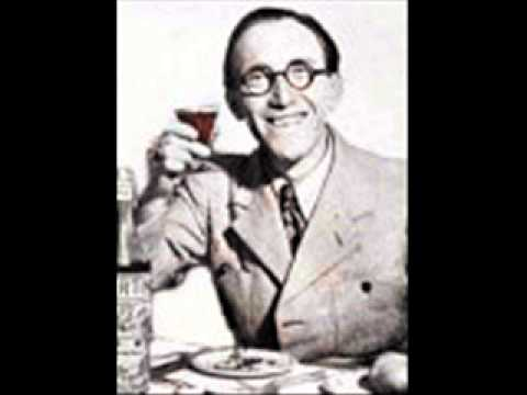 Arthur Askey - All Through A Glass of Champagne / Please Leave My Butter Alone (1940)