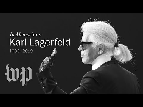 The life and legacy of fashion designer Karl Lagerfeld