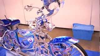 Custom Low-rider Bicycles | 29th Annual Los Magnificos Car Show