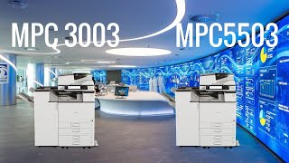 Speed Test Ricoh MPC3003 vs MPC5503 COLOR COPIERS. Женские Трусы Мужчин