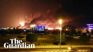 Saudi Arabia: major fire at world