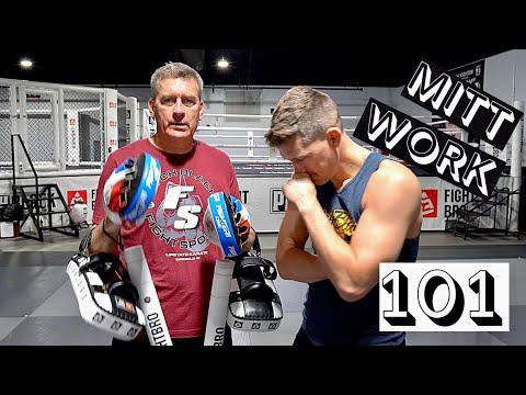 MITT WORK 101 W/ Head Coach Ray Thompson   Stephen Wonderboy Thompson
