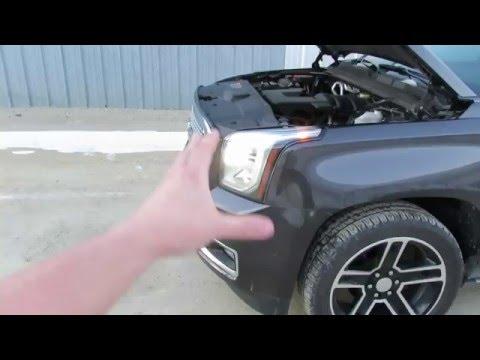 Salvage Repairable 2015 GMC Yukon XL Denali Fully Loaded