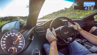 2017 KIA Optima GT (245hp) - 0-200 km/h acceleration (60FPS)
