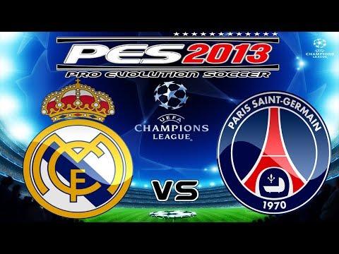PES 2013 UEFA Champions League Semi-Final Real Madrid vs Paris Saint-Germain F.C. (PSG)